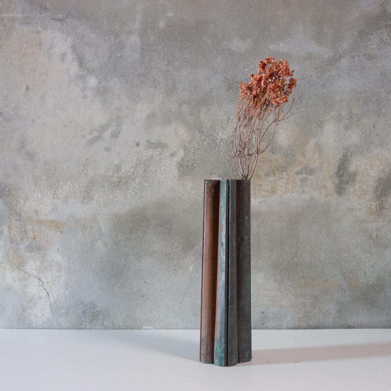 銅の菓子型 桜