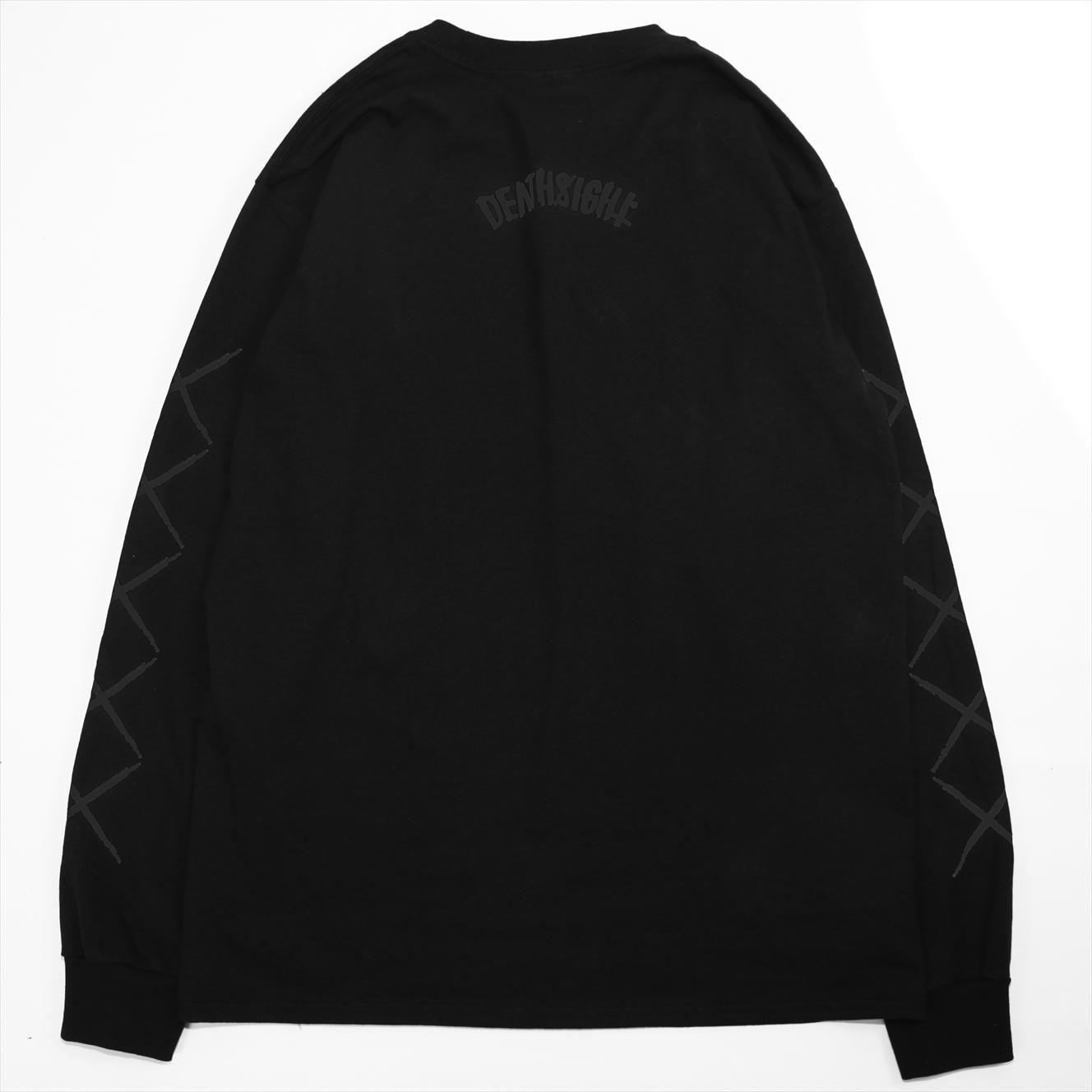 xxx L/S TEES BLACK x BLACK - 画像2