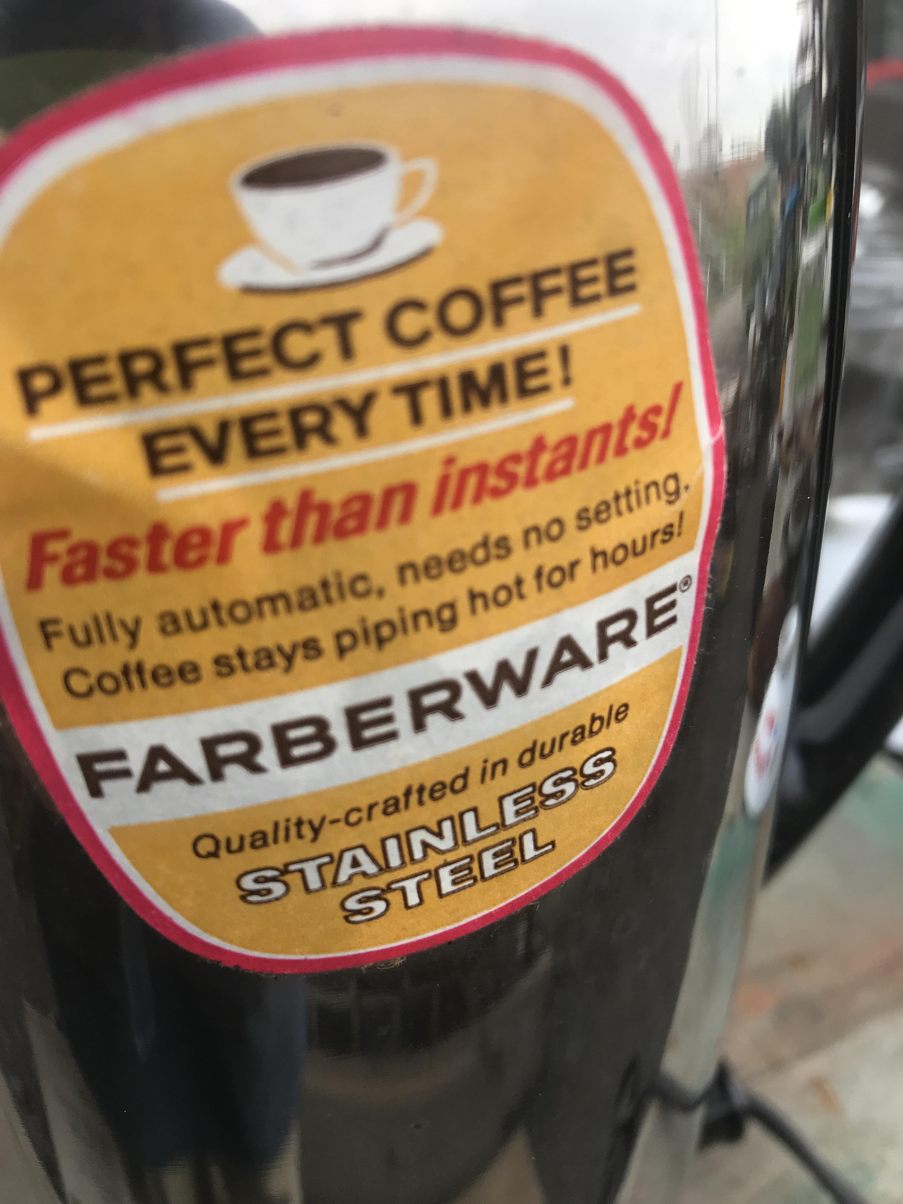 FARBERWARE コーヒーメーカー ポット