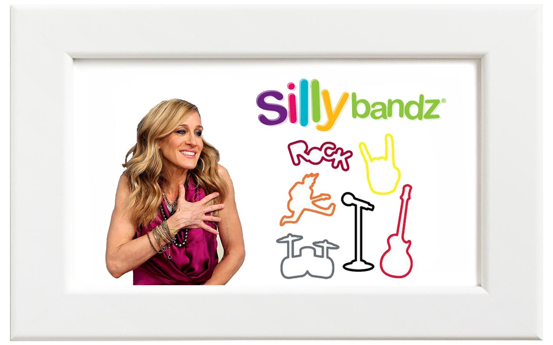 Silly bandz/シリーバンズ ロックバンズ