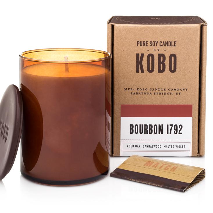 BOURBON1792 - WOODBLOCK CANDLES