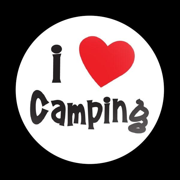 ゴーバッジ(ドーム)(CD1006 - I LOVE CAMPING 01) - 画像1