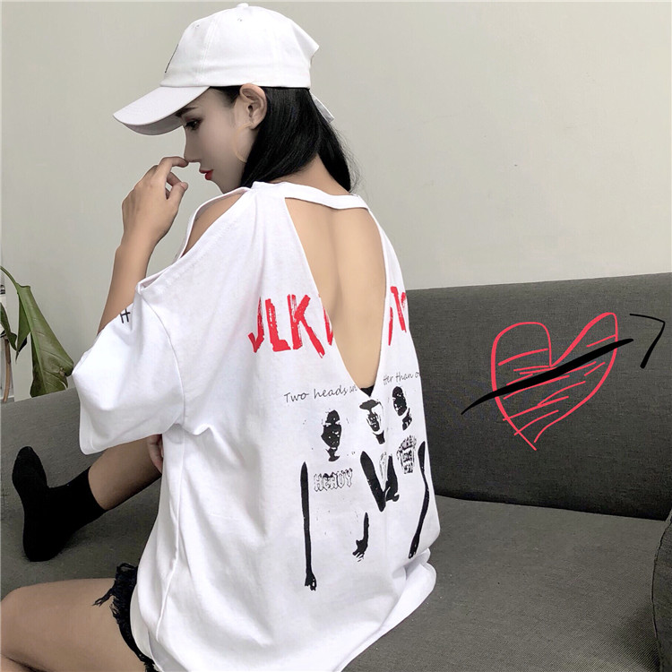 【tops】ストリート系アルファベットファッションTシャツ21666829