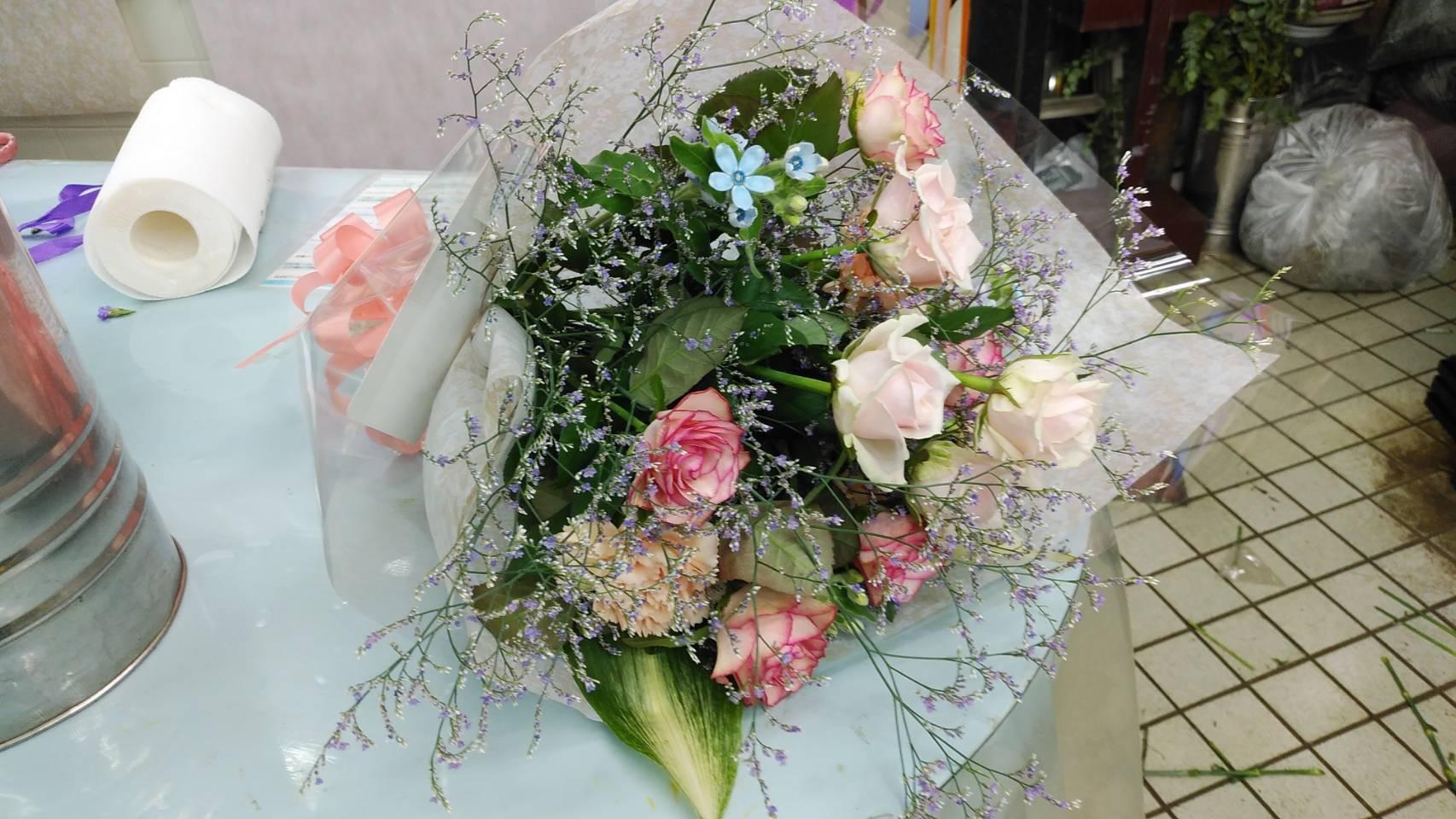 8,000円の花束