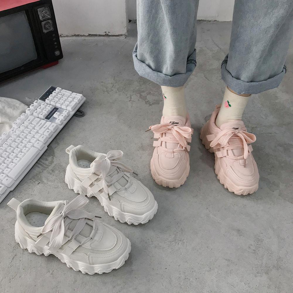 パステル厚底シューズ 【Pastel platform shoes】