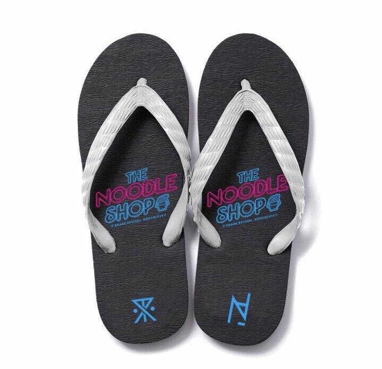 "ANASOLULE × ROARK REVIVAL ""THE NOODLE SHOP"" Beach Sandal"