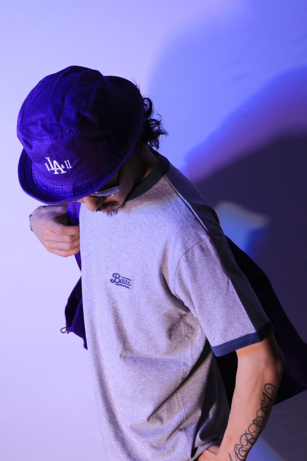 b'LA'ZZ BUCKET HAT [PURPLE]