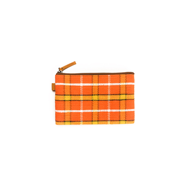 POUCHI SMALL Half / Orange × Yellow : 2110100100208