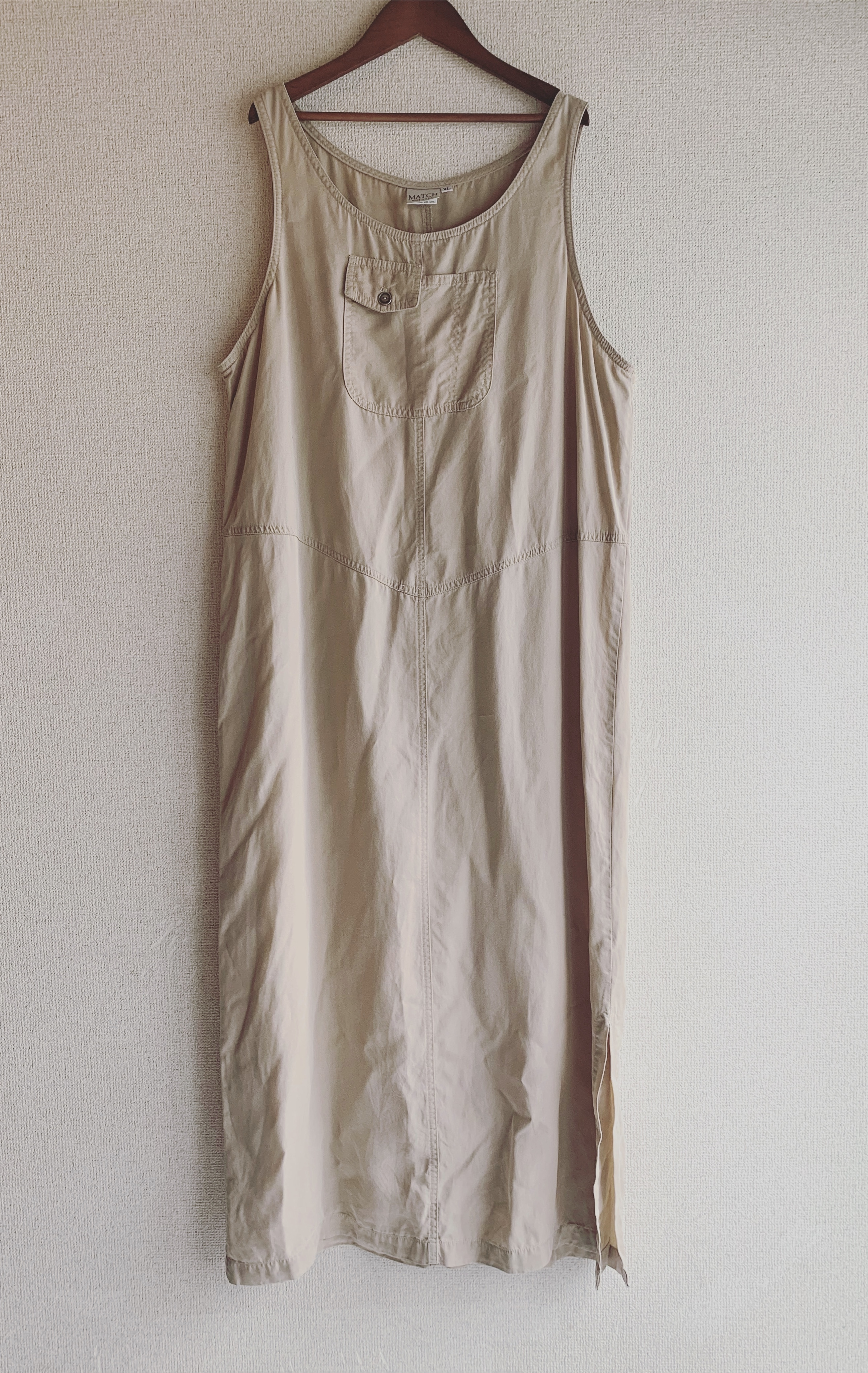 vintage oversized long onepiece