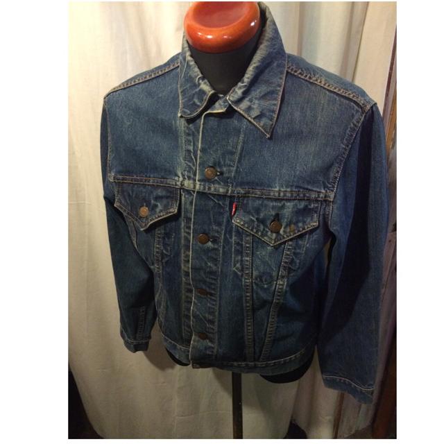 60's vintage LEVI'S デニムジャケット Big'E'