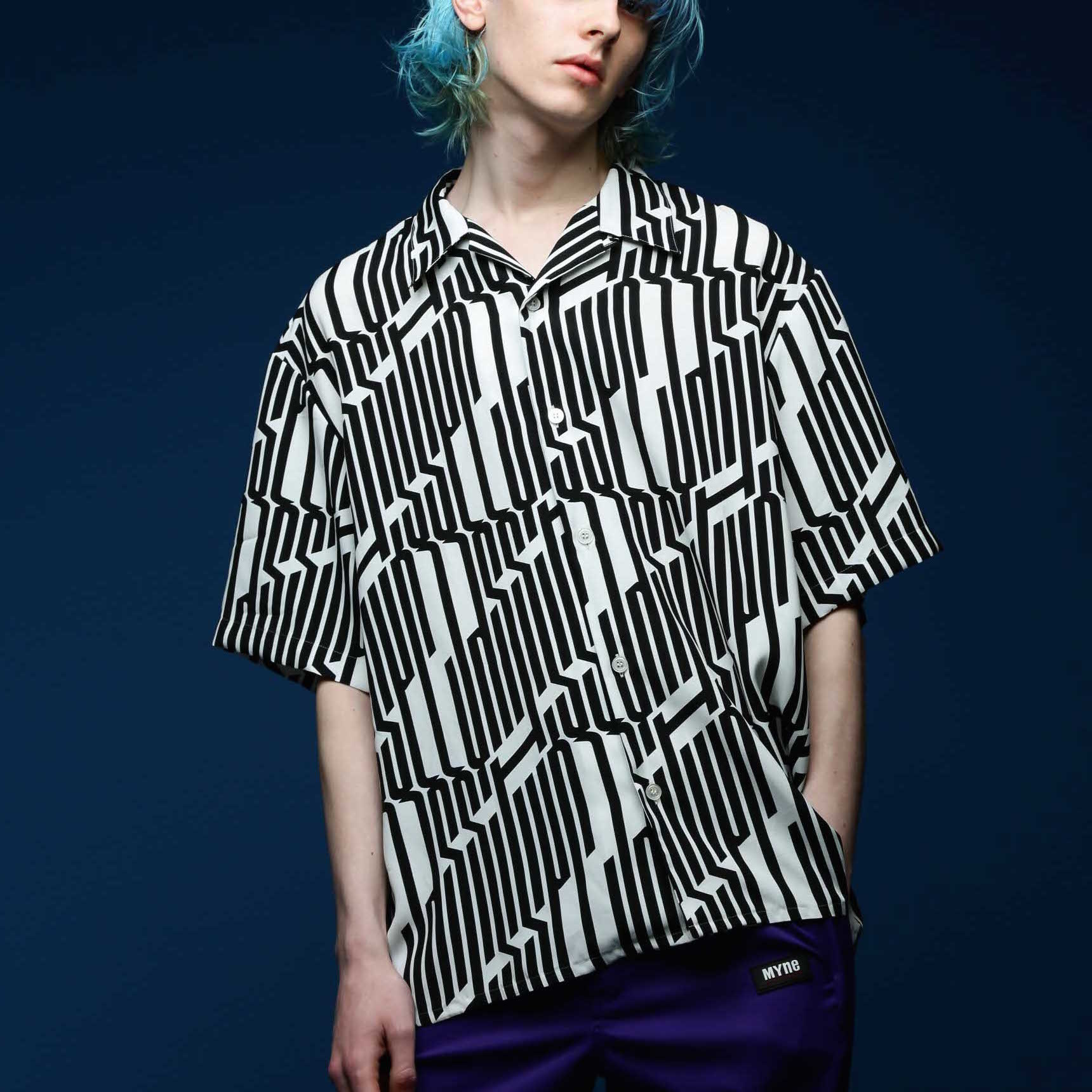 JAZZ IT UP HALF SHIRT / WHITE - 画像3