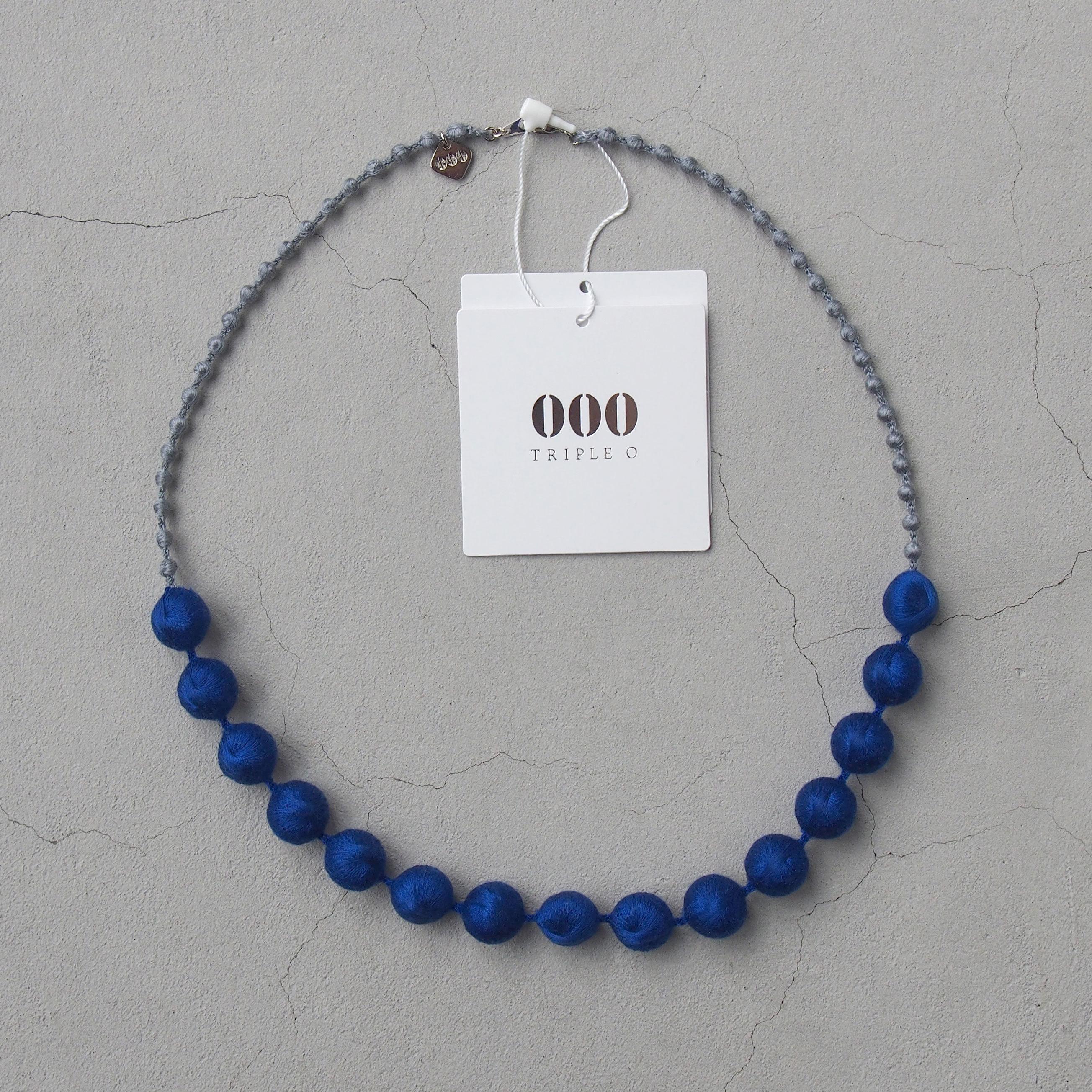 OOO Sphere Colour combi ネックレス ブルー