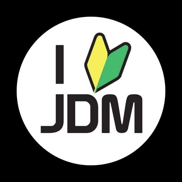ゴーバッジ(ドーム)(CD1113 - CLUB - I LOVE JDM) - 画像1