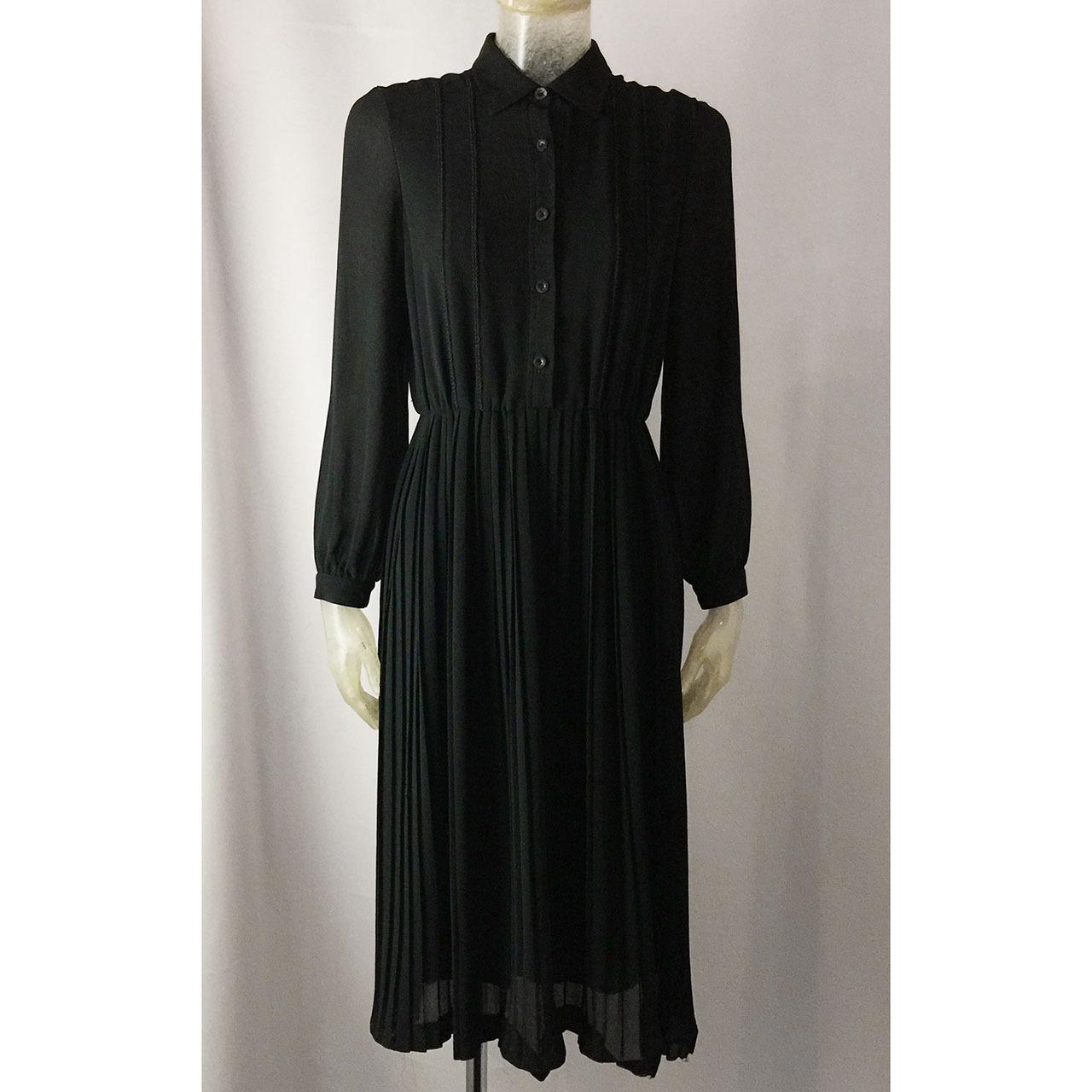 ブラックロングドレス