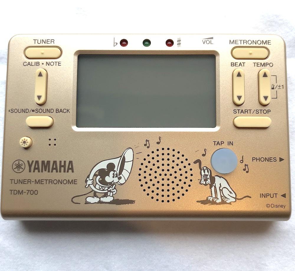 YAMAHA(ヤマハ)/TDM-700DMK  ミッキーマウス チューナー・メトロノーム