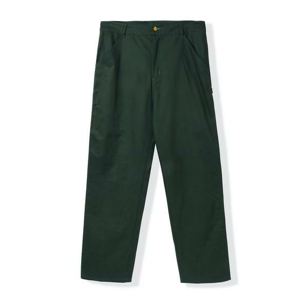 BUTTER GOODS 【CAMPBELL WORK PANTS, DARK GREEN】