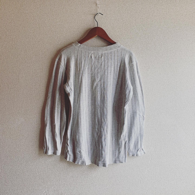 【SALE】vintage cotton rib tops