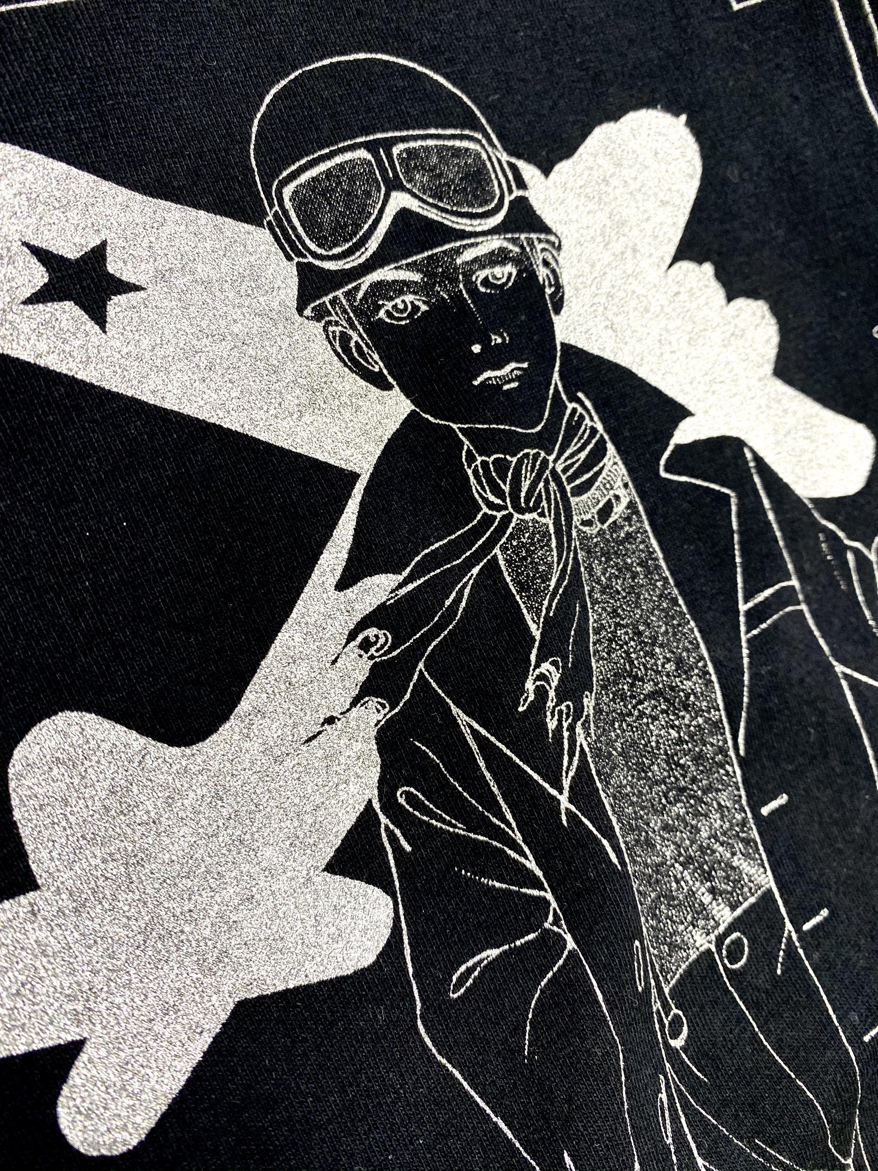 【ビーム25周年描き下ろし企画】丸尾末広「戦災バガボン」Tシャツ