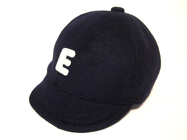 """ウール ベースボールキャップ 52㎝ """"WOOL BASE BALL CAP""""(GRAY """" E"""" 52)"""