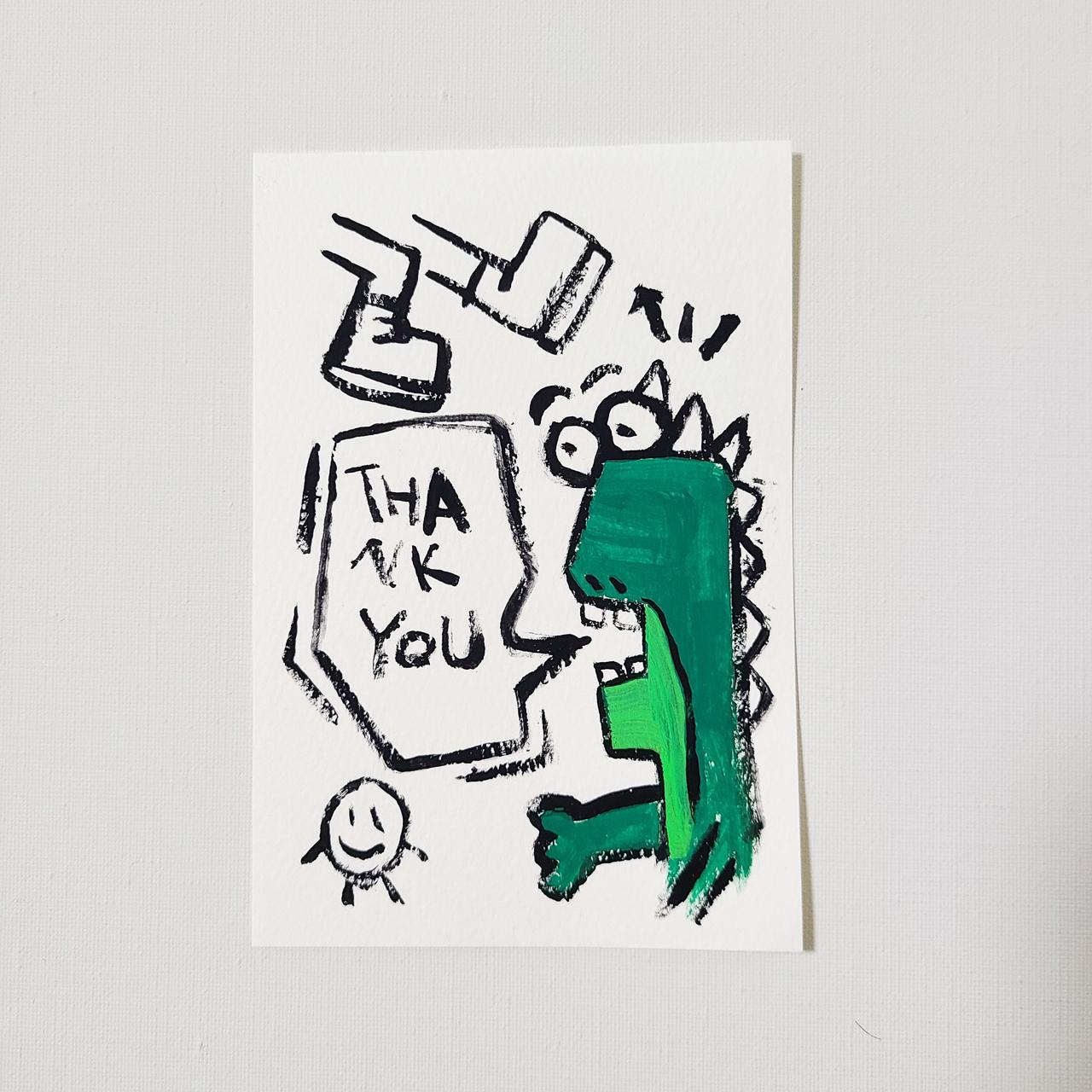 Postcard Original Art 【PSC-002】