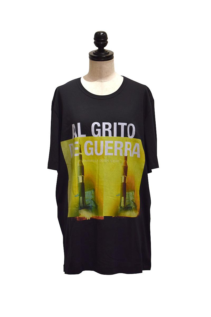 Passarella Death Squad / AL GRITO DE GUERRA T-shirt / BLACK