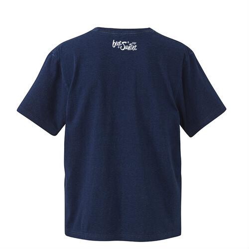 BT3ST Tシャツ( インディゴ ) /  beat sunset