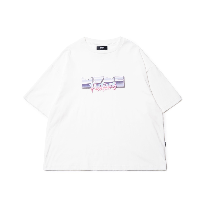 MYne Future T-shirt / WHITE - 画像1