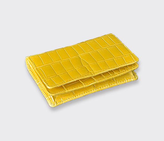 【Felillo】フェリーロ/CARD HOLDER【Yellow】