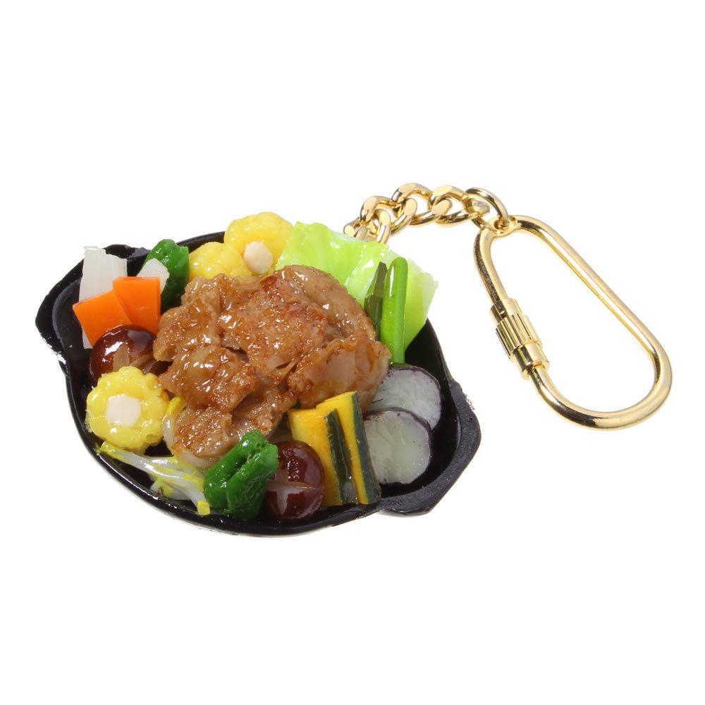 [0322]食品サンプル屋さんのキーホルダー(ジンギスカン)【メール便不可】