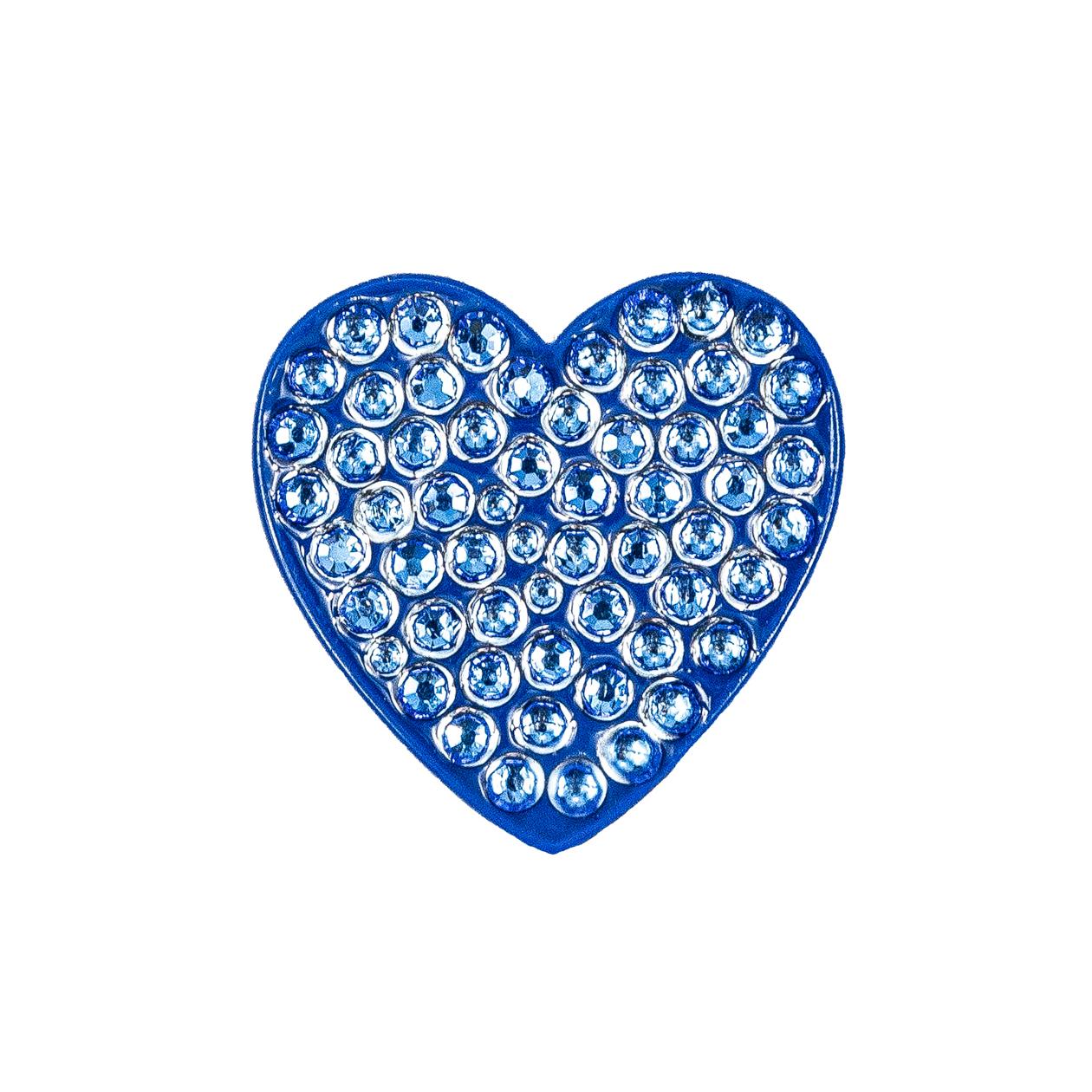 26. Heart Blue