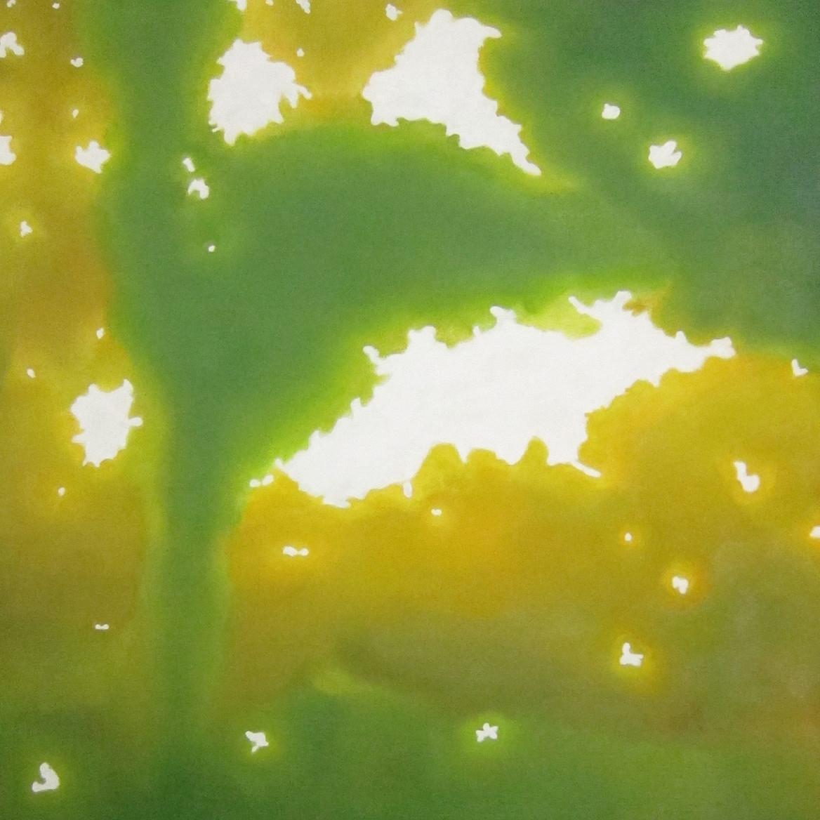 絵画 インテリア アートパネル 雑貨 壁掛け 置物 おしゃれ こもれび 木漏れ日 自然 風景 ロココロ 画家 : 馬見塚喜康 作品 : こもれび-Ⅱ