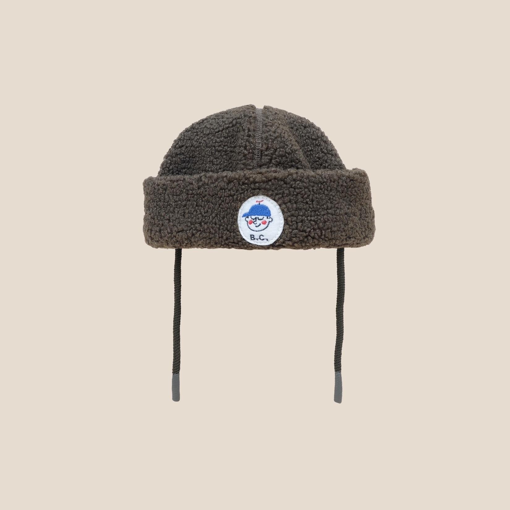 《BOBO CHOSES 2020AW》Boy Patch Sheepskin Hat / baby