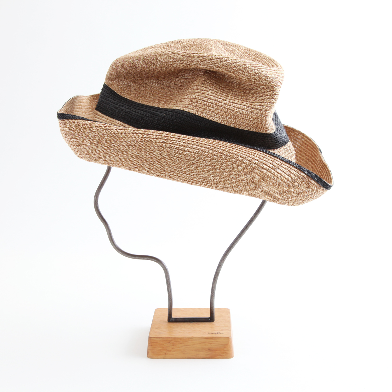 mature ha./BOXED HAT 101SWW mixbrown×black