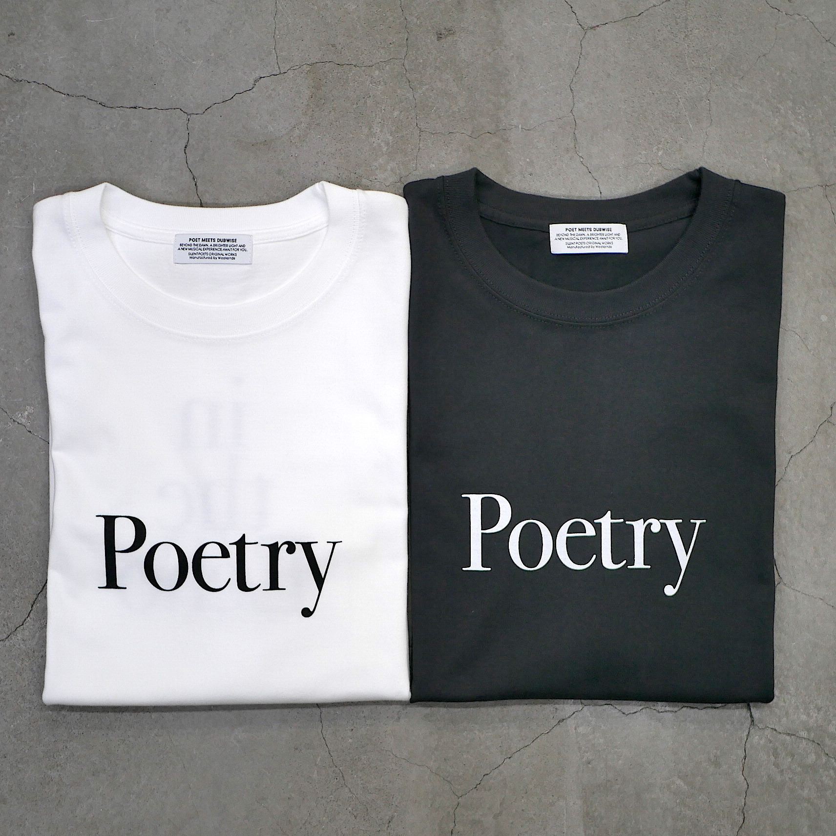 SILENT POETS / T-SHIRTS(POETRY IN THE ECHO)