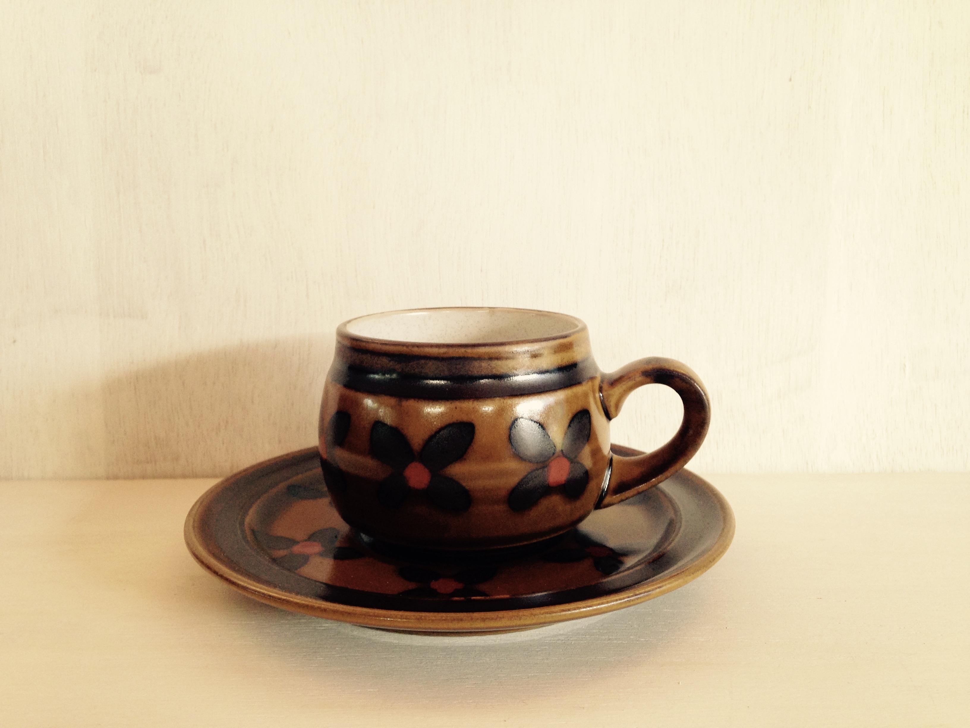 コーヒーカップ Noritake(ノリタケ)フォークストーン