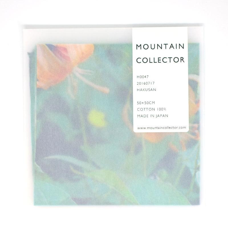 MOUNTAIN COLLECTOR(マウンテンコレクター)H0047 HAKUSAN ハンカチ