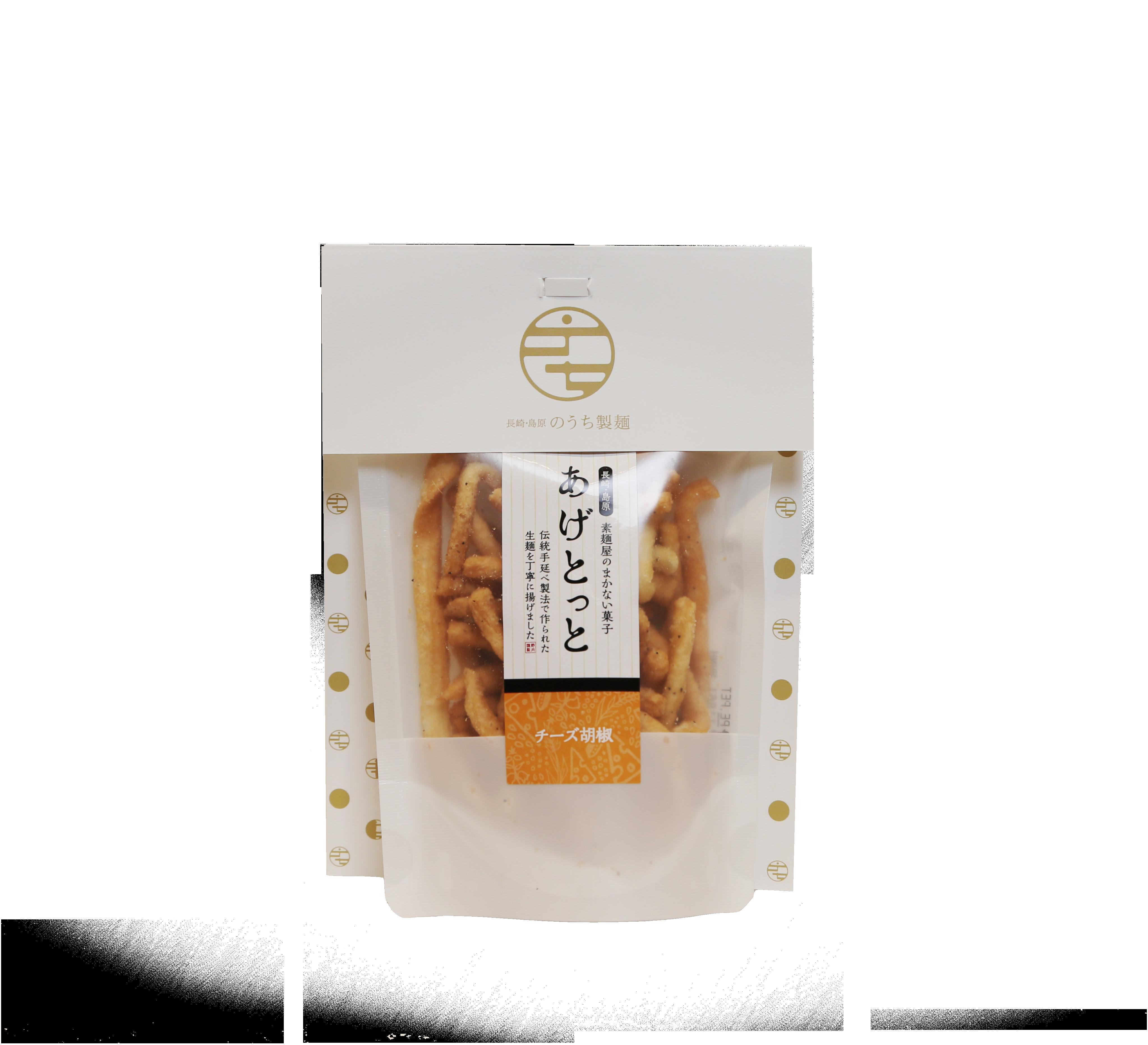 あげとっと チーズ胡椒     35g 【のうち製麺】