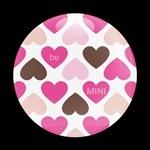 ゴーバッジ(ドーム)(CD0263 - GIRL HEART BE MINI) - 画像1