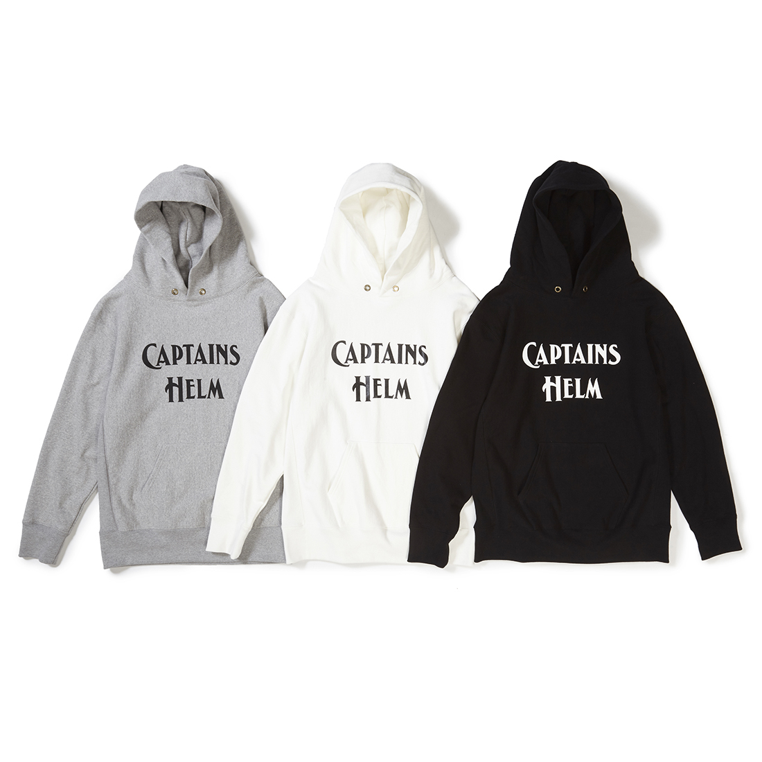 CAPTAINS HELM #Logo Authentic Hoodie