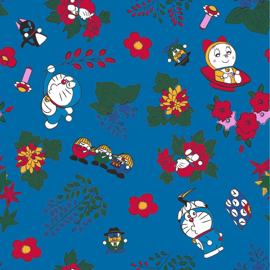 ドラえもん MADE IN JAPAN 雑貨 シリーズ  (3) 日本製 巾着  /  エンスカイ
