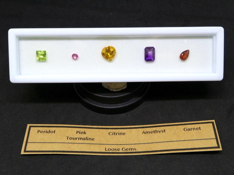 【宝石セット】ルース石 裸石 カット石 5個セット #2 T091
