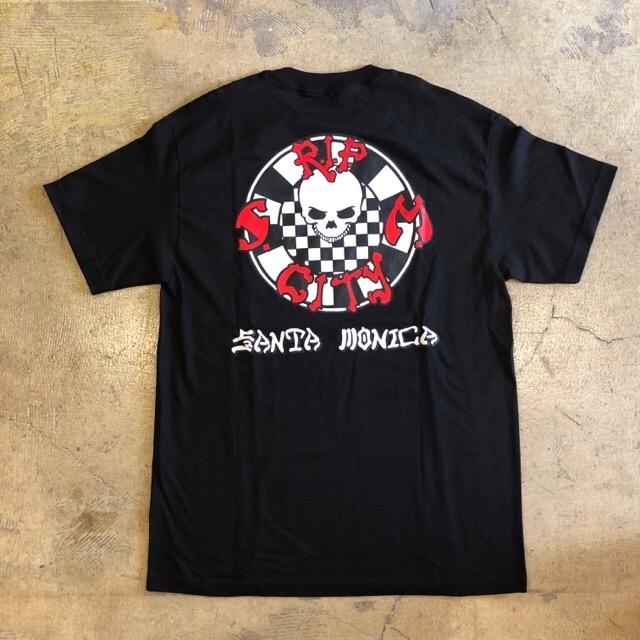 Rip City Skates #Circle Checker S/S Tee
