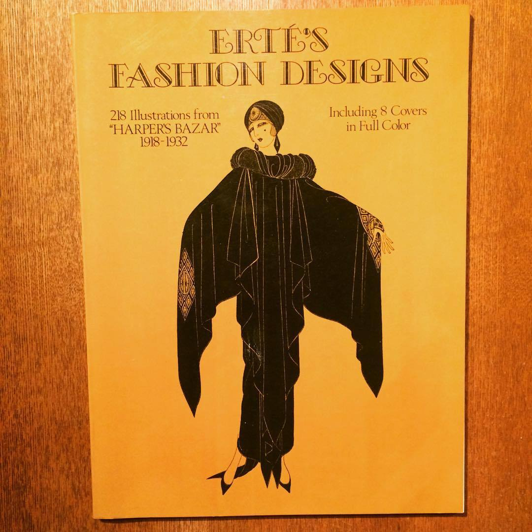 エルテ イラスト集「Erté's Fashion Designs」 - 画像1