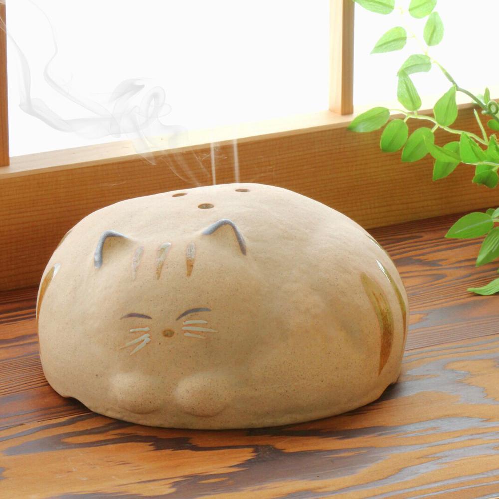 猫蚊とり器(ごろ寝ねこ蚊やり)