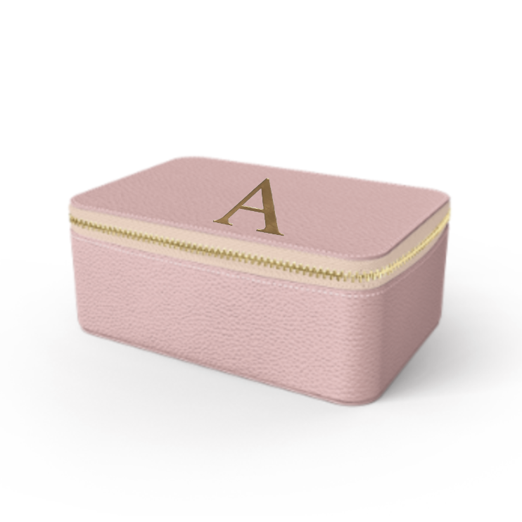 Box Premium Shrink Leather Case (Blush Pink)