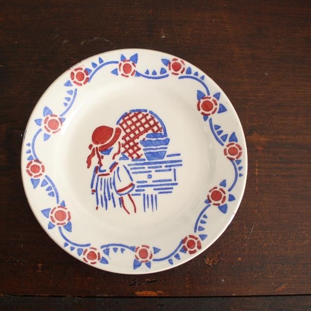 赤ずきん・ままごとディナー皿 / aa0022