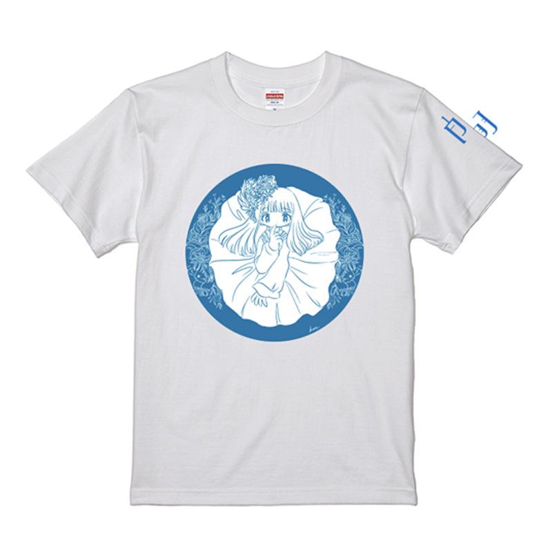 白羽 Tシャツ(各カラーの白羽着用ステッカー付き)