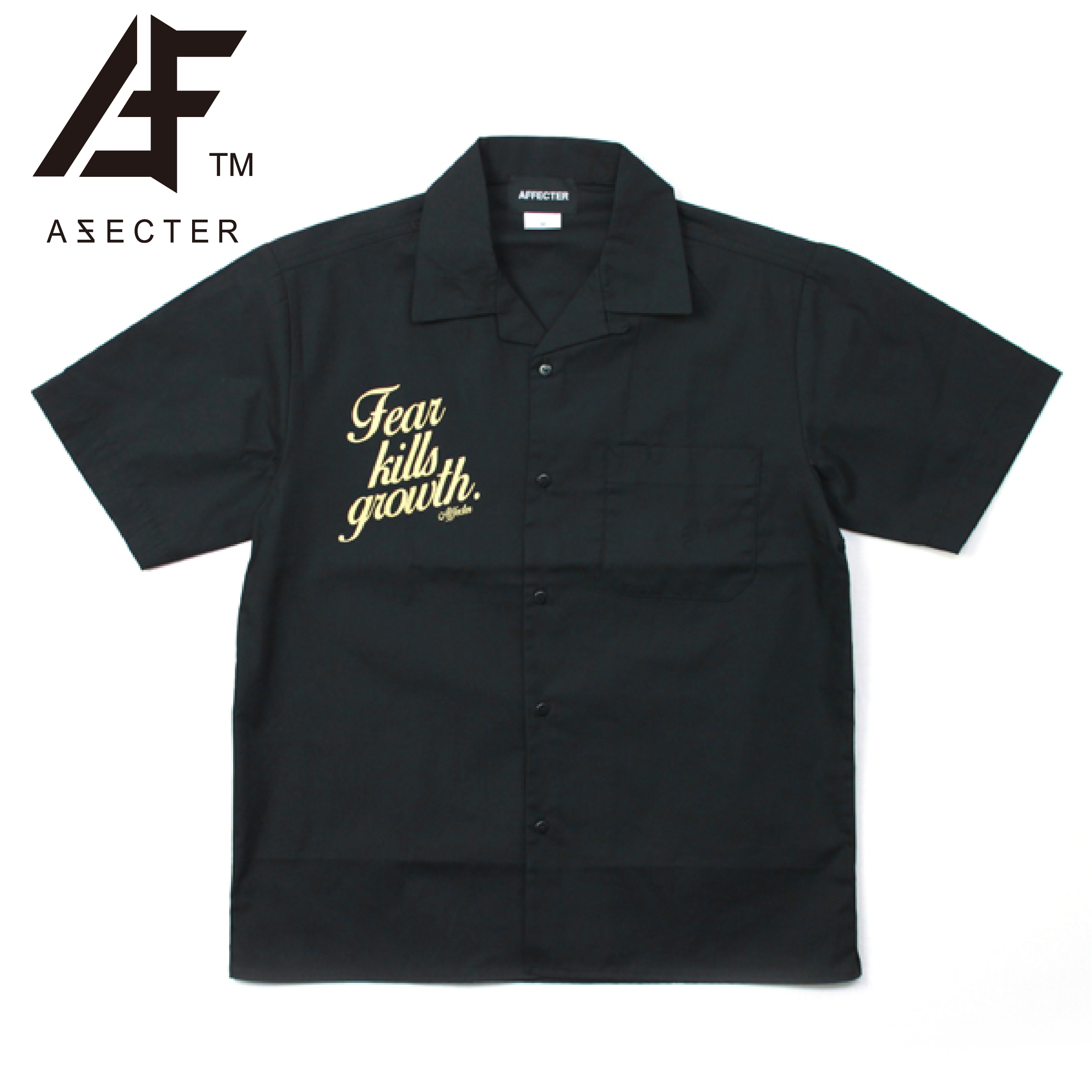 AFFECTER (アフェクター) | KILL GLOWTH SHIRTS (Black)