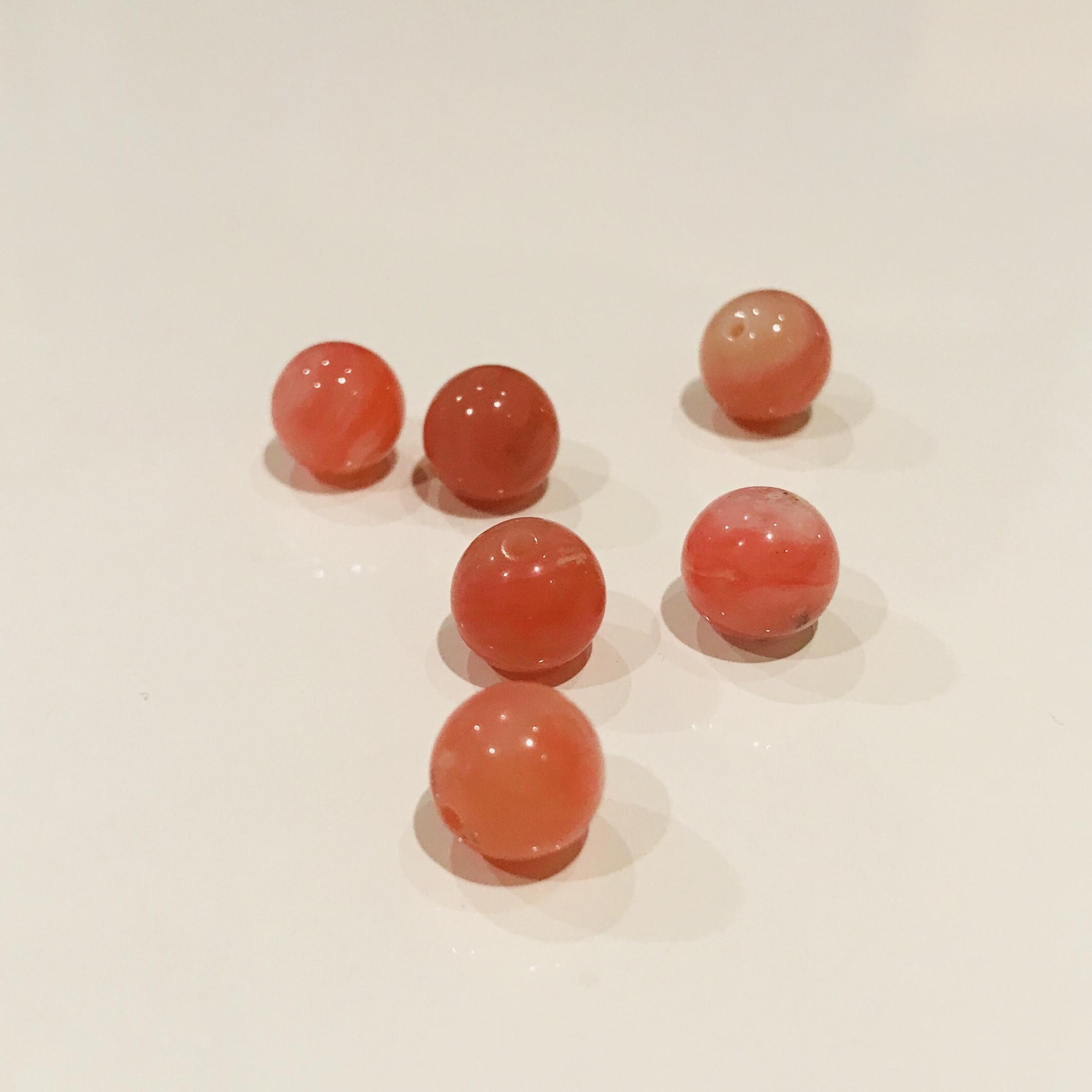 愛と魅力の石 ピンクオパール 8mm玉