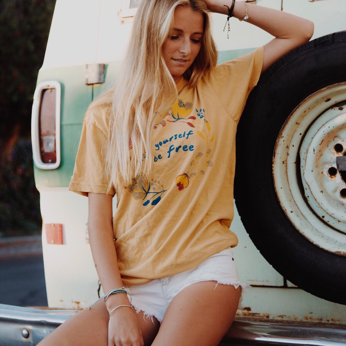Let Yourself Be Free Vintage Tee